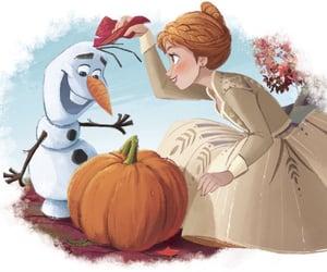 anna, art, and autumn image