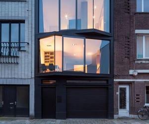 architecture, dark, and facade image