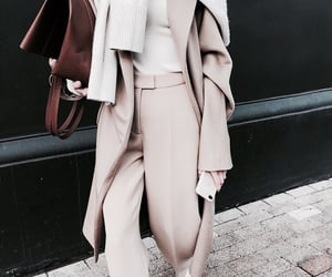 bag, beige, and classy image