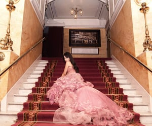 camila cabello, dress, and pink image