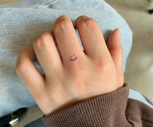 tattoo, smile, and cute image
