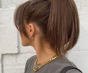 fashion and ponytail image