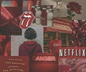 aesthetic, coca cola, and netflix image