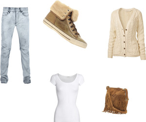 outfit, Polyvore, and danielle m's tagged image