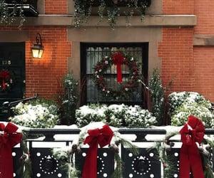 christmas, beautiful, and snow image