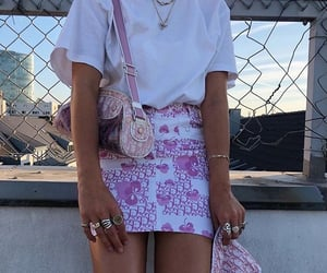 style, fashion, and pink image