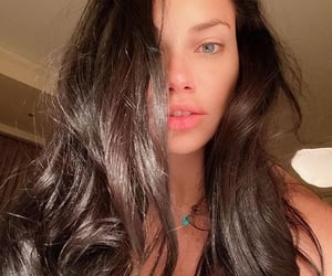 Super Model, Adriana Lima, and brunette image