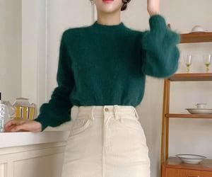 angora, asian fashion, and kfashion image