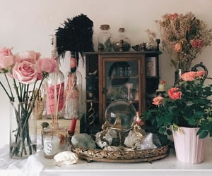 altar, beauty, and flowers image