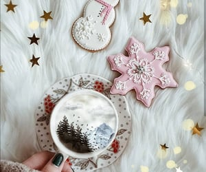 coffee, merry christmas, and christmas coffee image