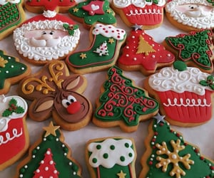 christmas, cookie, and winter image