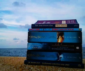 aesthetic, mitch albom, and beach image