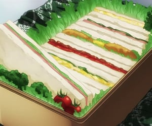 anime and sandwich image