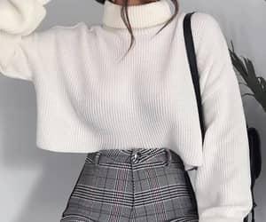 beautiful, coat, and girl image