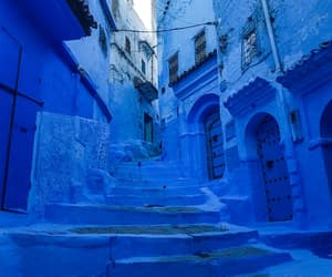 arabic, beautiful, and blue image