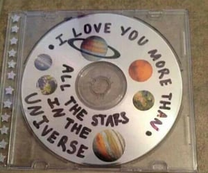cd, stars, and universe image