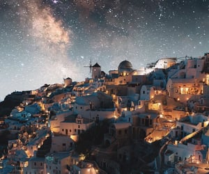stars, travel, and Greece image