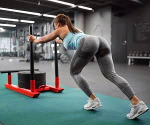 fitness, workout, and gym image