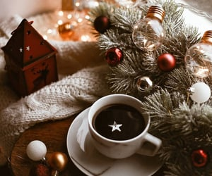 coffee, fashion, and holiday image