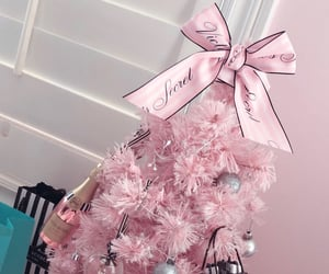 pink, victoria's secret, and pink tree image