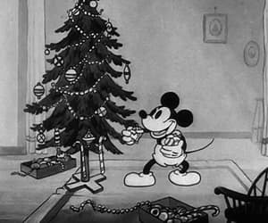 december, disney, and mickey mouse image