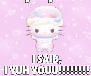 hello kitty, meme, and wholesome image