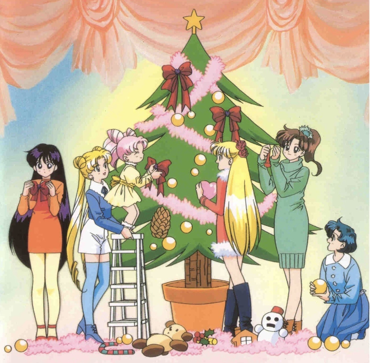 1000 Images About Anime Christmas Pictures On We Heart It See More About Anime Christmas And Kawaii