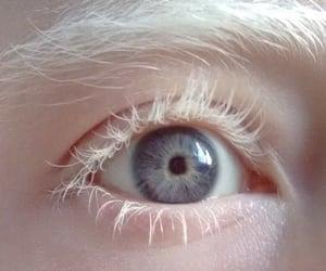 eye, white, and aesthetic image