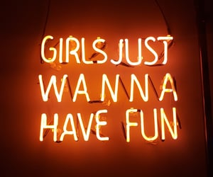 neon and girls image