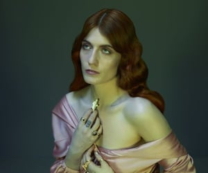 artistic, beauty, and florence and the machine image