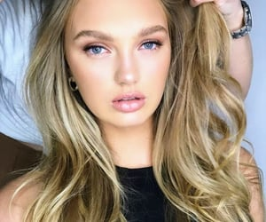 blonde hair, blue eyes, and celebrities image