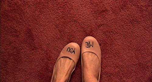 shoes, me and you and everyone we know, and feet image