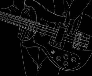 banda, guitarra, and guitarrista image