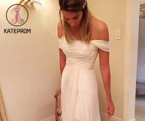 wedding dresses, beach wedding dress, and wedding gowns image