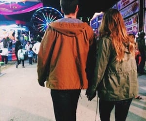 couple, fun, and date image
