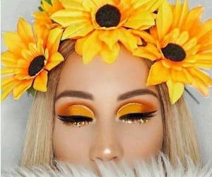 sunflower, yellow, and beauty image