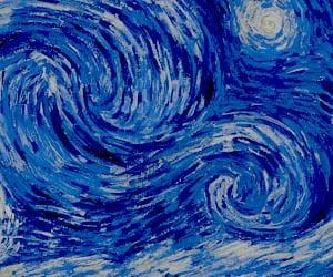 art, sky, and arte image
