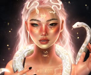 beautiful, tati moons, and chinese image