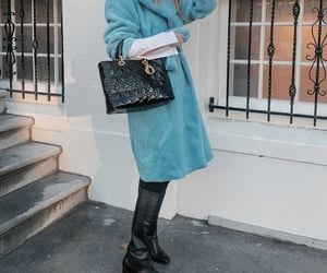 bag, blue, and boots image