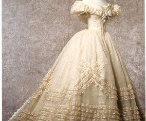 1860s, ball gown, and ballgown image
