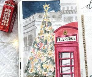 christmas, christmas tree, and december image
