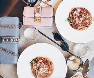 food, fashion, and pasta image