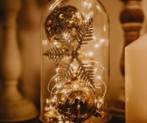 christmas, decor, and light image