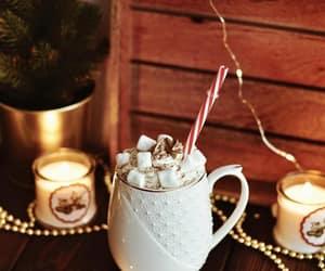 christmas, marshmallow, and merry christmas image