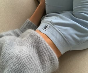 baby blue, chanel, and relax image
