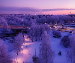 finland, nature, and winter image