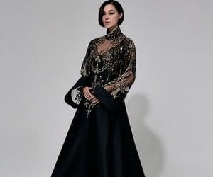 blackdress, dress, and dresses image