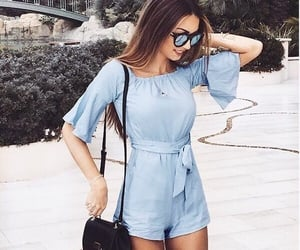 baby blue, cold, and style image