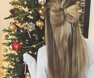 christmas hair image