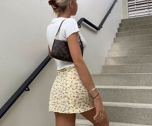 bag, girl, and blonde image